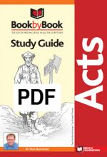 Book by Book: Acts - Guide (PDF)