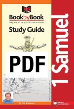 Book By Book: I Samuel - Guide (PDF)