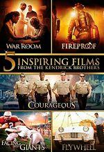 Courageous / Facing the Giants / Fireproof / Flywheel / War Room - 5-Film Set