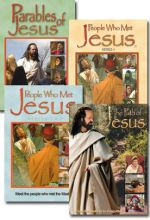 Parables Of Jesus / People Who Met Jesus I And II / Path Of Jesus - Set Of Four
