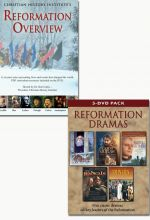 Reformation Overview and Reformation Dramas 5-DVD Pack - set of 2
