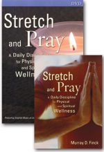 Stretch And Pray DVD And Book - Set Of Two