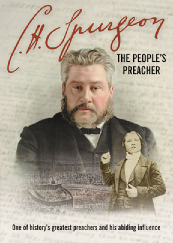 C H  Spurgeon: The People's Preacher -  MP4 Digital Download