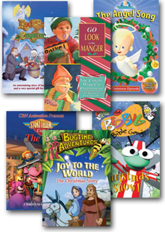 Children's Christmas Sampler - Set of Six DVD | Vision Video ...