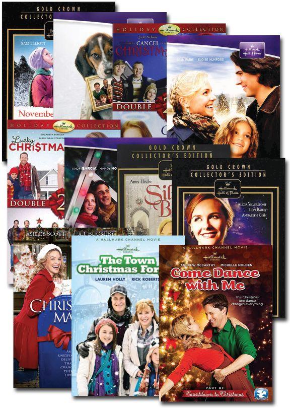 Christmas Set.Hallmark Christmas Movies Set Of 11