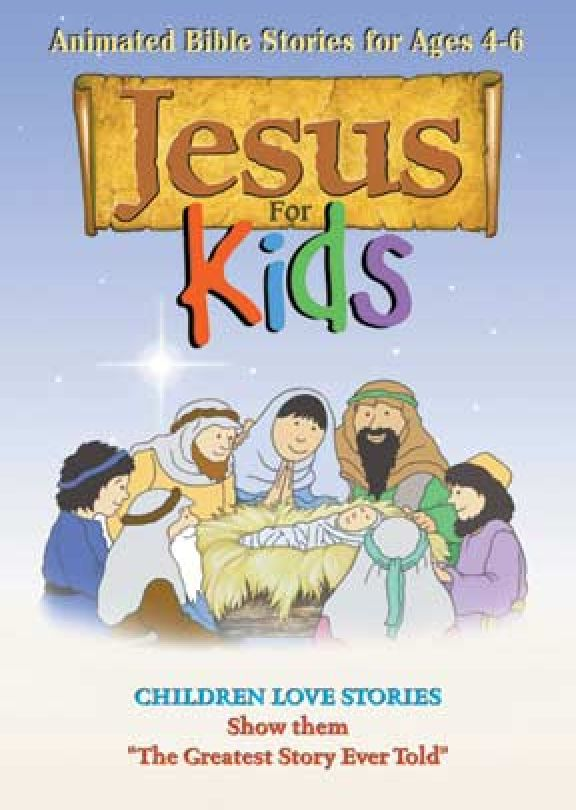 Jesus For Kids -  MP4 Digital Download