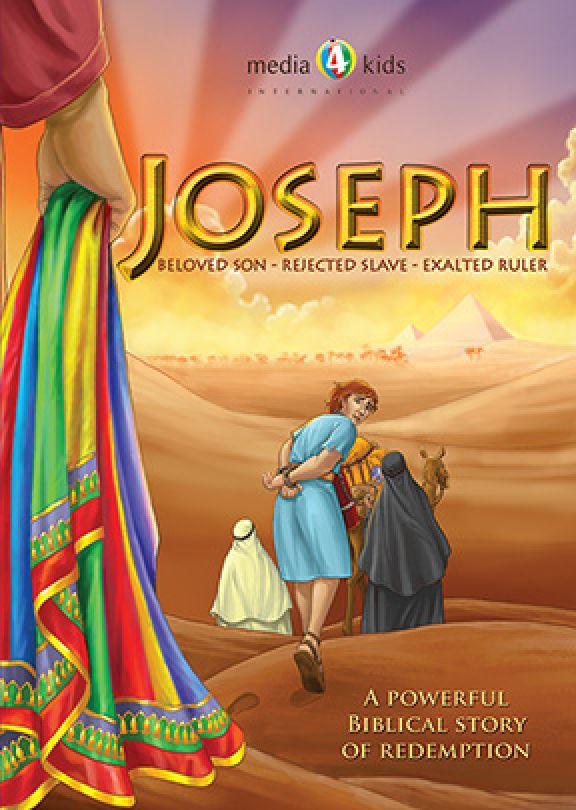 Joseph Beloved Son Rejected Slave Exalted Ruler