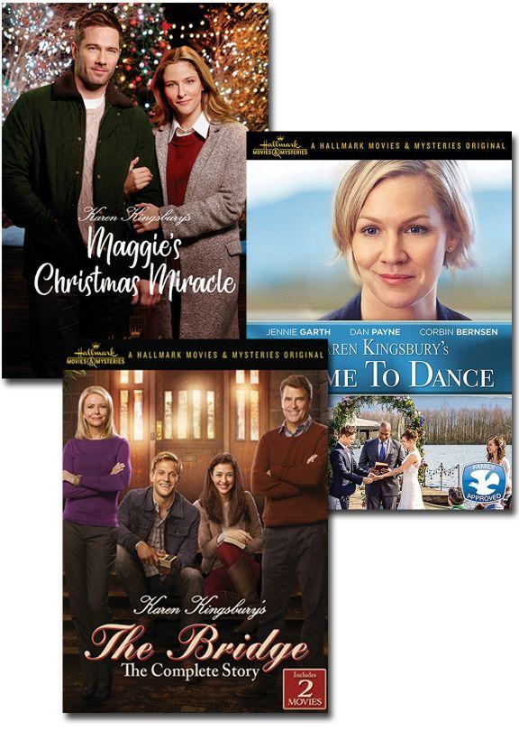 Maggies Christmas Miracle.Karen Kingsbury Set Of 3
