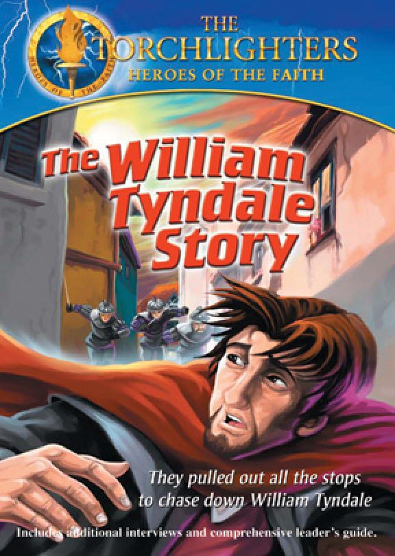 Torchlighters: The William Tyndale Story - DVD Image