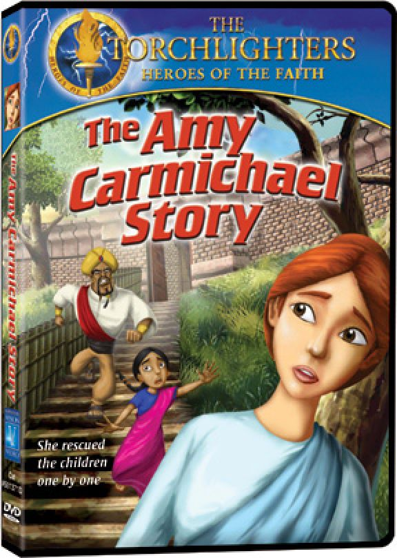 Torchlighters: The Amy Carmichael story - DVD Image