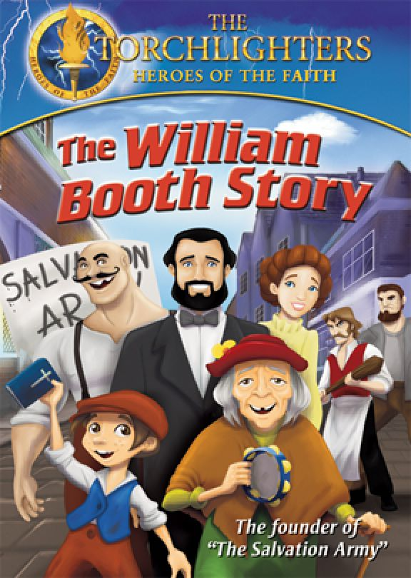 Torchlighters william booth story dvd vision video christian torchlighters william booth story fandeluxe Gallery