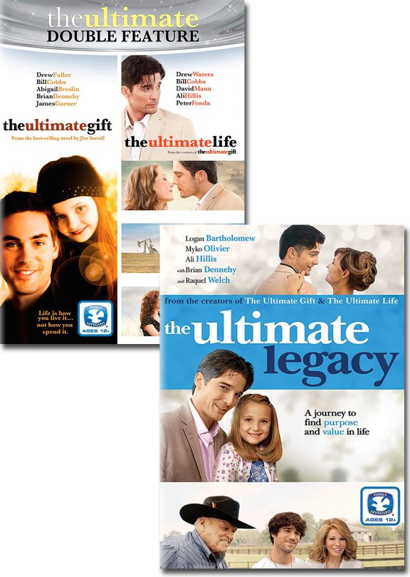 Ultimate Gift / Ultimate Life / Ultimate Legacy - Set of Three DVD ...