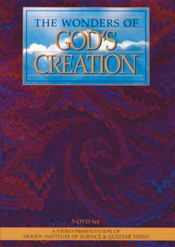 Dvd God of Wonders Wonders of God's Creation