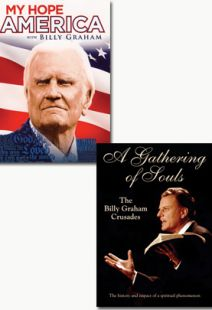 Billy Graham: My Hope America / Gathering of Souls - set of 2