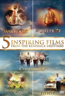 Courageous / Facing the Giants / Fireproof / Flywheel / War Room - 5-Film Set