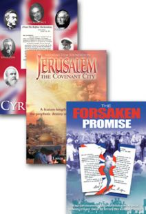 Cyrus Call / Forsaken Promise / Jerusalem Covenant City - Set of Three