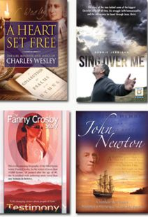 Hymn Writers of Grace - Set of Four