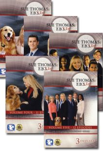 Sue Thomas: F. B. Eye Set Volume (1-5)