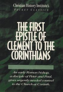 The First Epistle of Clement To The Corinthians - Pocket Classic