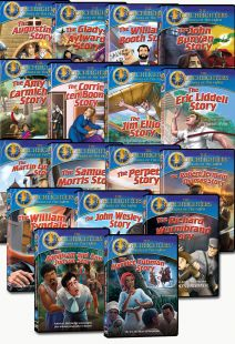 Torchlighters set of 16 DVDs plus the Corrie ten Boom book