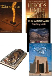Tabernacle/Temple Collection - 4 DVDS,  & Model