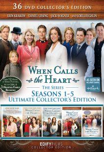 When Calls the Heart: 36-DVD Ultimate Collector's Edition Season 1-5