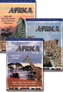 Worship Africa - Set Of Three