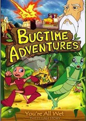 Bugtime Adventures - Episode 4 - You're All Wet - The Elijah Story - .MP4 Digital Download