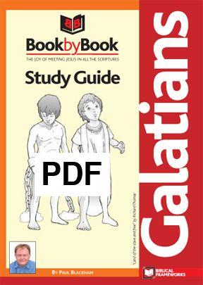 Book by Book: Galatians - Guide (PDF)
