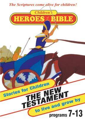 Children's Heroes Of The Bible: New Testament - .MP4 Digital Download