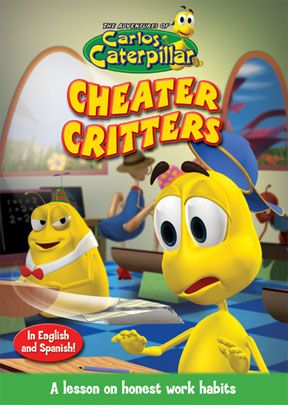 Carlos Caterpillar #10: Cheater Critters - .MP4 Digital Download