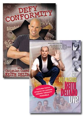 Defy Conformity, Outrageous Keith Deltano Set of Two