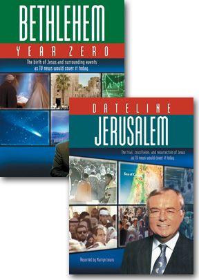 Dateline Jerusalem / Bethlehem Year Zero - Set Of Two