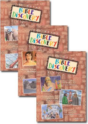 Great Bible Discovery - Set Of Three