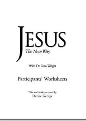 Jesus The New Way - Workbook