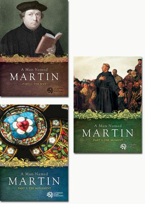 Man Named Martin - Set of Three