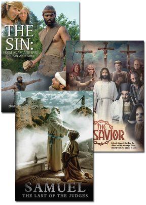 Samuel, The Sin, and The Savior - Set of 3