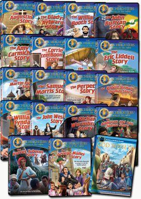 Torchlighters Set of 18 DVDs + Bonus DVD