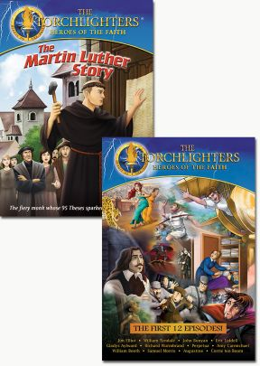 Torchlighters 12-Pack with FREE Martin Luther