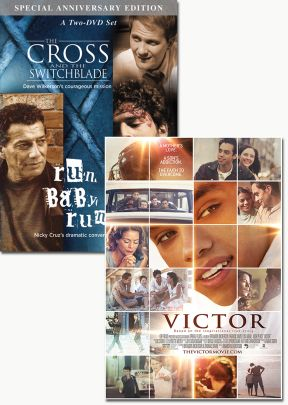 Victor and The Cross & the Switchblade - set of two