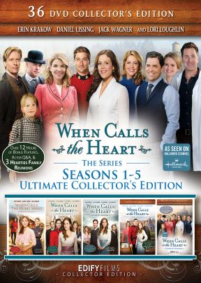 When Calls the Heart: 36-DVD Ultimate Collector's Edition Season 1-5