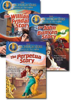 Torchlighters - Christian History Set Of Three